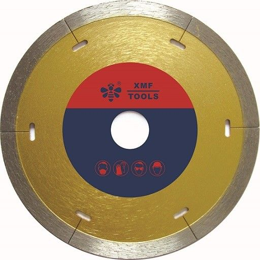 "Continuous 14 "" Diamond Concrete Saw Blade With Laser Cut    Granite  Cutting"