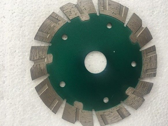 Green Circular 115mm Diamond Cutting Disc / Diamond Tip Cutting Blade