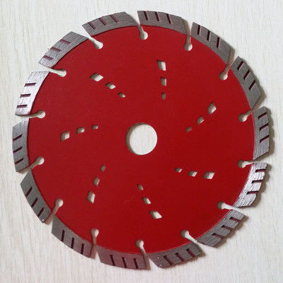 230mm 5  / 7 Inch  Diamond Segmented Circular Saw Blades  To Cut Brick Turbo